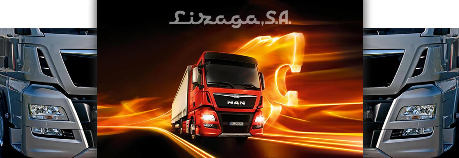 Lizaga MAN tecnología y diseño en la carretera